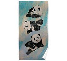 Panda Karate Poster