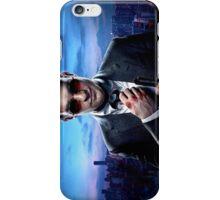 Daredevil Suit Poster Sideways iPhone Case/Skin