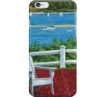Adirondack Chair Cape Cod iPhone Case/Skin
