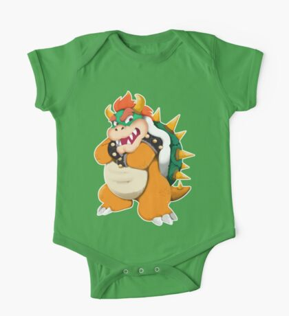 Bowser King Koopa One Piece - Short Sleeve
