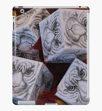 tiger cubes iPad Case/Skin