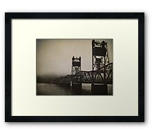 Old Border Crossing Framed Print