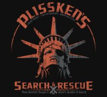 Snake Plissken's  Search & Rescue Pty Ltd One Piece - Short Sleeve