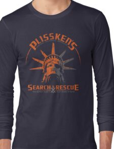 Snake Plissken's  Search & Rescue Pty Ltd Long Sleeve T-Shirt