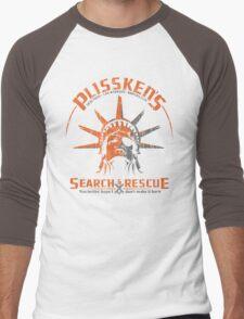Snake Plissken's  Search & Rescue Pty Ltd Men's Baseball ¾ T-Shirt