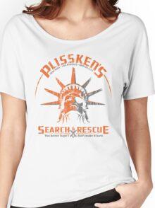 Snake Plissken's  Search & Rescue Pty Ltd Women's Relaxed Fit T-Shirt