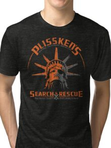 Snake Plissken's  Search & Rescue Pty Ltd Tri-blend T-Shirt
