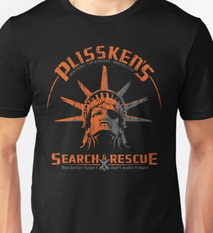 Snake Plissken's  Search & Rescue Pty Ltd Unisex T-Shirt