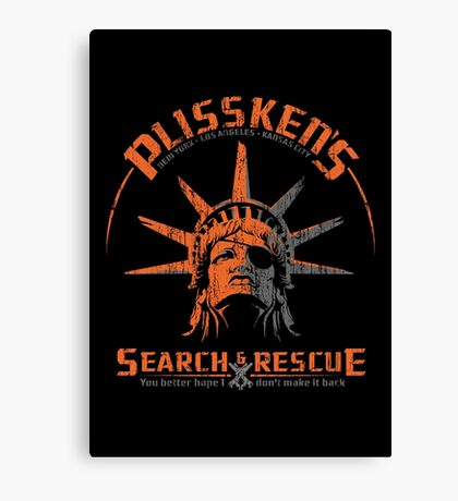 Snake Plissken's  Search & Rescue Pty Ltd Canvas Print