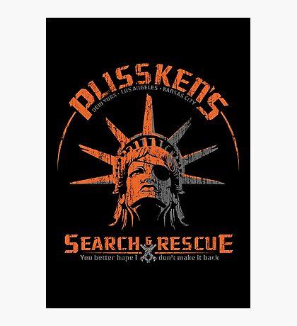 Snake Plissken's  Search & Rescue Pty Ltd Photographic Print