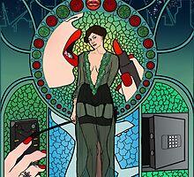 Sherlock Nouveau: Irene Adler by Rebecca -