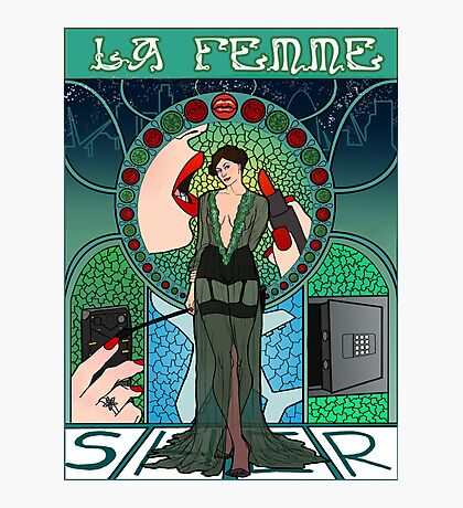 Sherlock Nouveau: Irene Adler Photographic Print