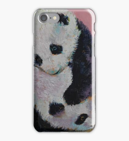 Baby Panda Rumble iPhone Case/Skin