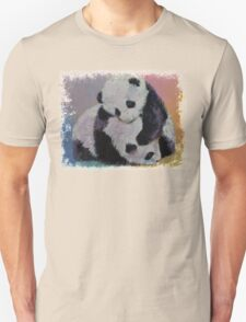 Baby Panda Rumble Unisex T-Shirt