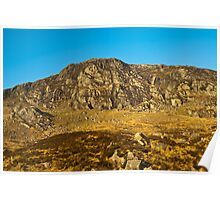 Landscape, Craigdews Hill, Galloway Forest park, Scotland Poster