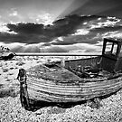 abandoned trawlers at dungeness by meirionmatthias
