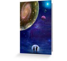 Universes Greeting Card