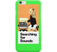 Searching for Sounds 2 iPhone Case/Skin
