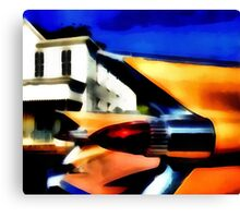 Cadillac Memories Canvas Print