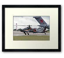 RNLAF AH-64D Framed Print