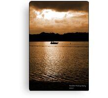 Mauritius sunset Canvas Print
