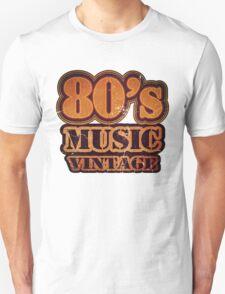 80's Music Vintage T-Shirt T-Shirt