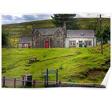 Burnside Cottages Poster