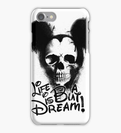 Life is but a dream iPhone Case/Skin