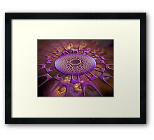 Point Of Attraction Framed Print