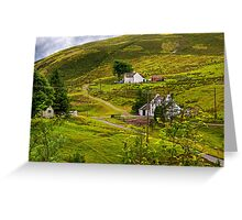 The edge of town Greeting Card