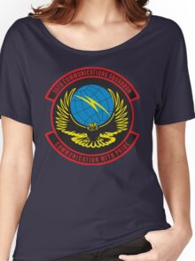55th Comm Squadron Women's Relaxed Fit T-Shirt