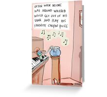 Wilfred Greeting Card