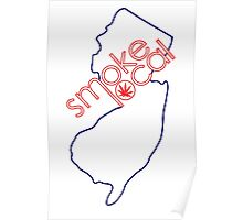 Smoke Local Weed in New Jersey (NJ) Poster