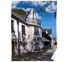 Leafy Side Street ~ Topsham, Devon Poster