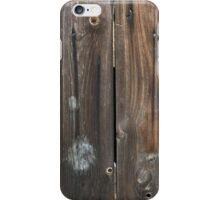 Wood Fence iPhone Case/Skin