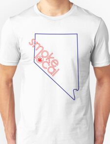 Smoke Local Weed in Nevada (NV) T-Shirt