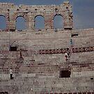 Verona - Arenas interior by Gilberte