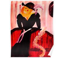 Mae West  #2, watercolor Poster