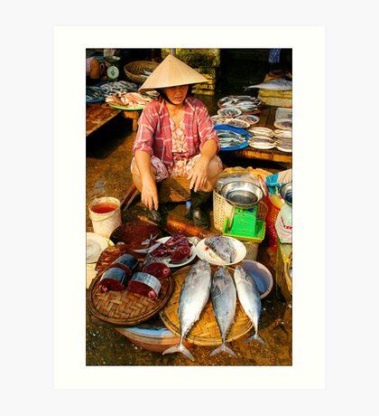 Fish For Sale Art Print