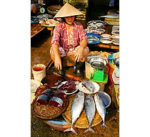 Fish For Sale Photographic Print
