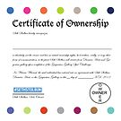 Official Certificate of Ownership by sethstolbun
