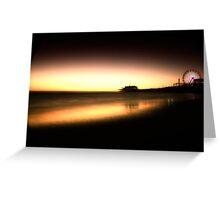 Seaside Ferris Wheel Greeting Card