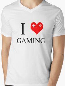 I Heart Gaming Mens V-Neck T-Shirt