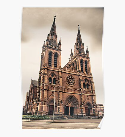 St Peters Cathedral, Adelaide Poster