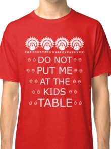 Thanksgiving Kids Table Classic T-Shirt