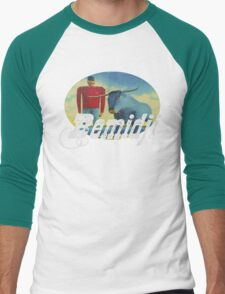 Bemidji  Men's Baseball ¾ T-Shirt