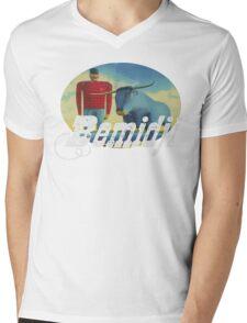 Bemidji  Mens V-Neck T-Shirt