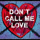 don't call me love by monica palermo