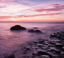 Giant's Causeway in Pink by Kristin Repsher