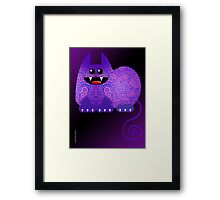 PAISLEY CAT  (card) Framed Print